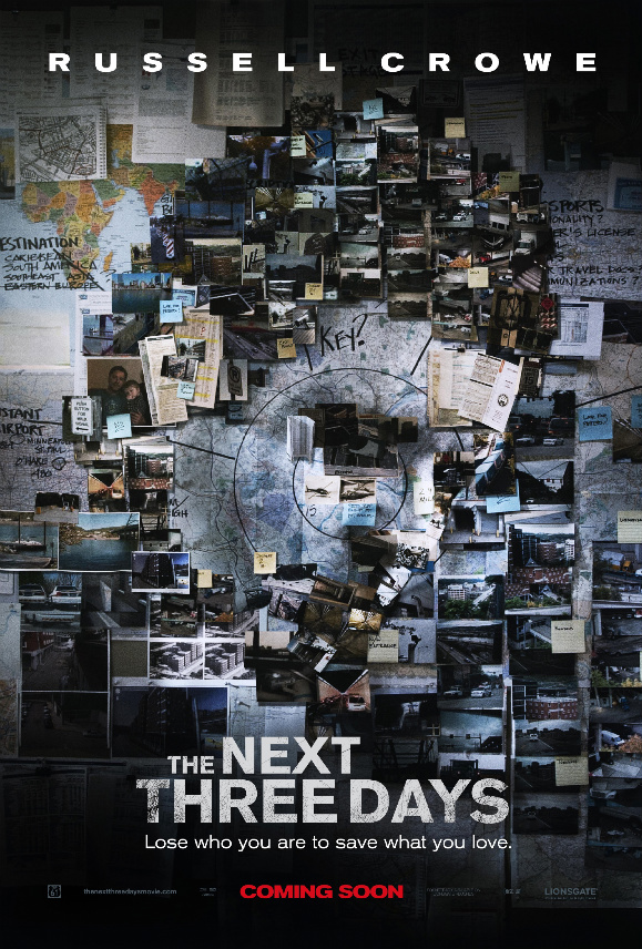 Movie Review: 'The Next Three Days' will be one Suspenseful Ride that you Won't Want to Miss