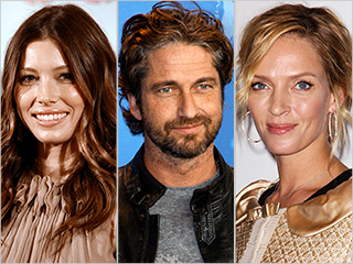 Uma Thurman & Jessica Biel are 'Playing the Field' with Gerard Butler