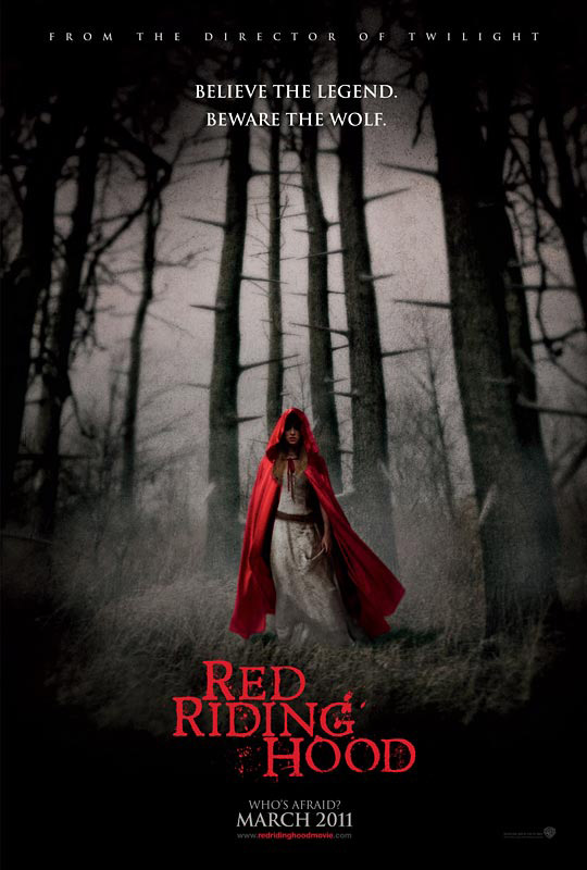 A Dark and Chilling Red Riding Hood Poster & Trailer