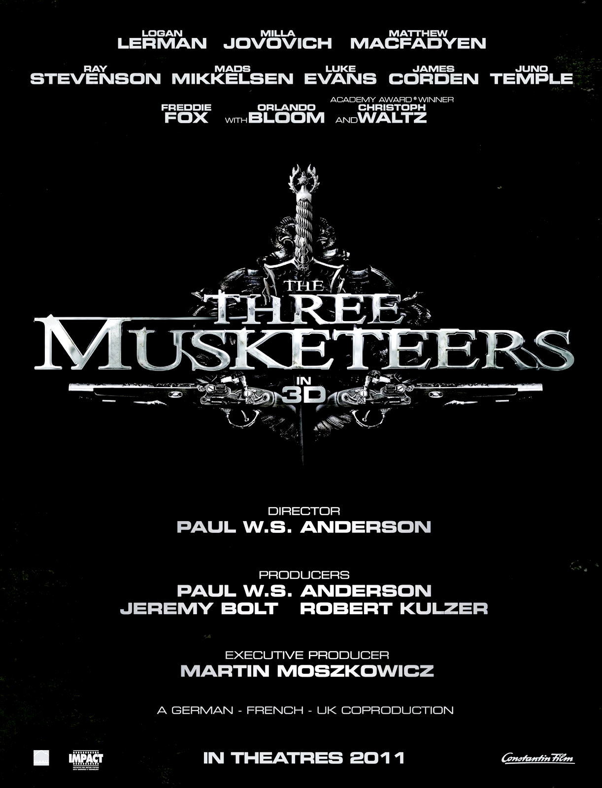 En Garde! The 'Three Musketeers' Teaser Trailer is Here!