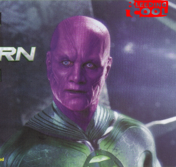 Abin Sur of 'Green Lantern' is Revealed!