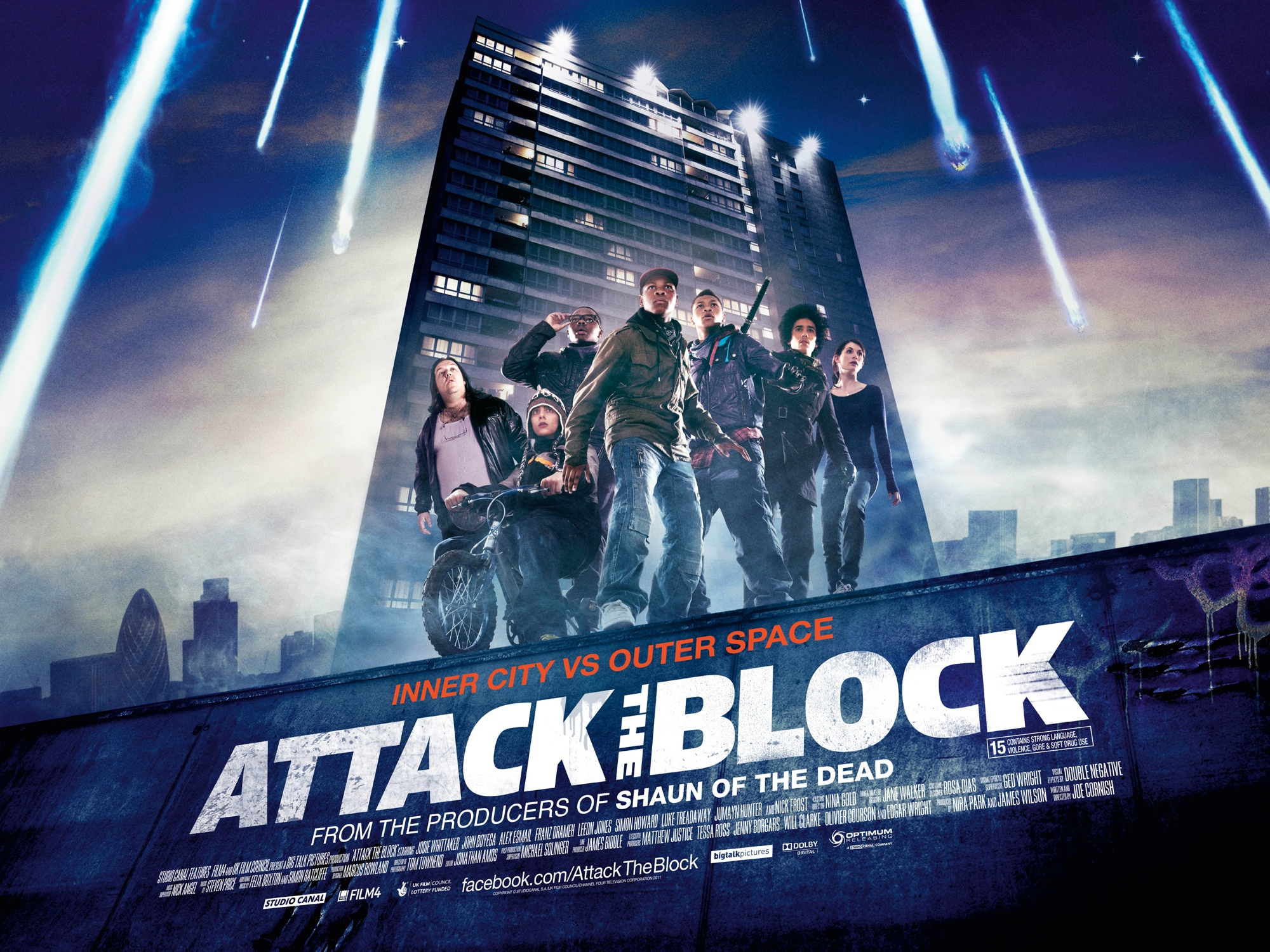 Sweet Quad Poster for 'Attack the Block'