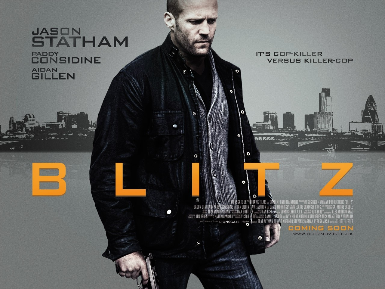 Red Band Trailer for 'Blitz' starring the Bald Badass, Jason Statham