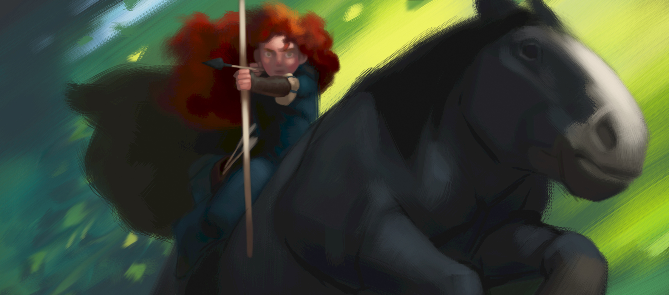 New Concept Art for Disney/Pixar's BRAVE