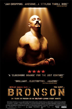 'Bronson' is a beastly English legend (2009)