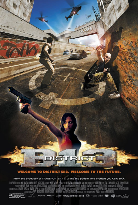 [UPDATED WITH CASTING] English Remake of Parkour Action Flick 'District 13′ Officially in the Works!