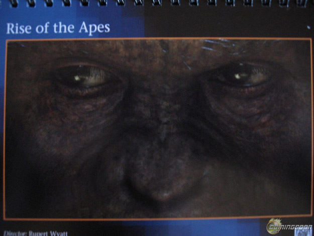 Eyes of The Apes: First Glimpse of a 'Rise of the Apes' Ape!