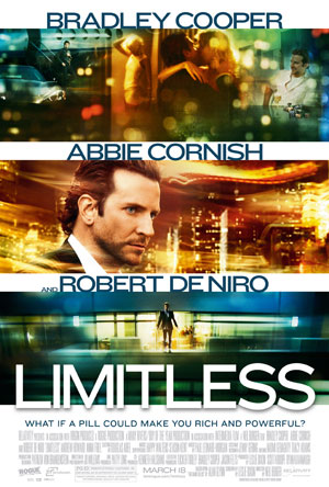 Movie Review: 'Limitless' is about Steroids for your Brain…Time to Juice Up