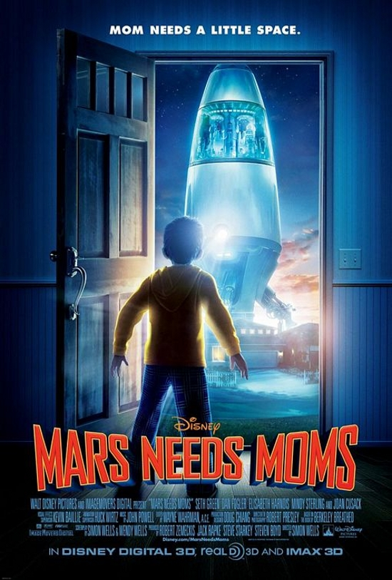 Movie Review: Mars Needs Moms…Actually, They Need More than just That