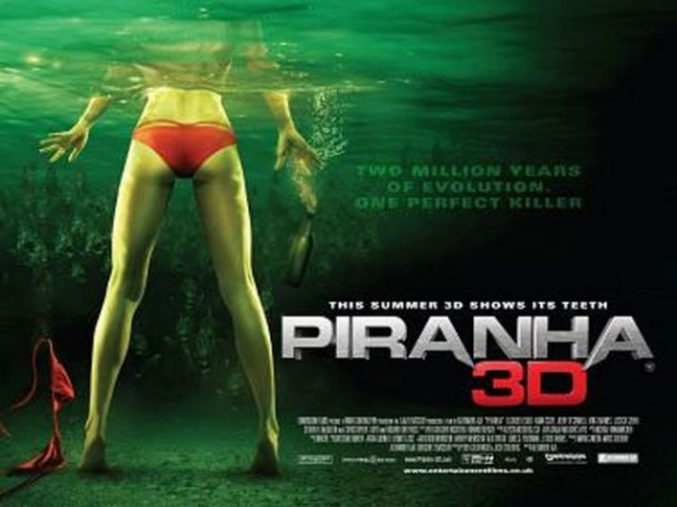 'Piranha 3DD' Teaser Trailer Features Hasselhoff, Shotgun Legs, and (of course) Double-Ds