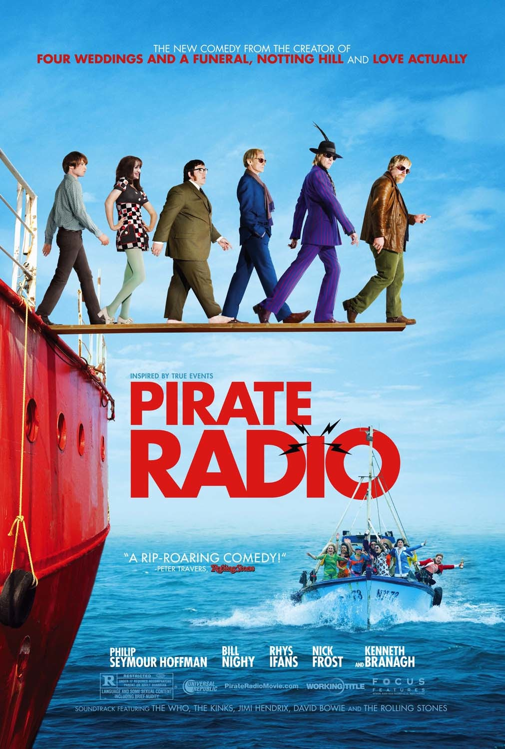 Pirate Radio Quickie Review: The boat rocked but not enough to tip it over (UK)
