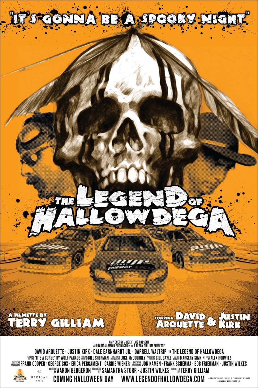Check out footage, photos and More from Terry Gilliam's Short Film, THE LEGEND OF HALLOWDEGA