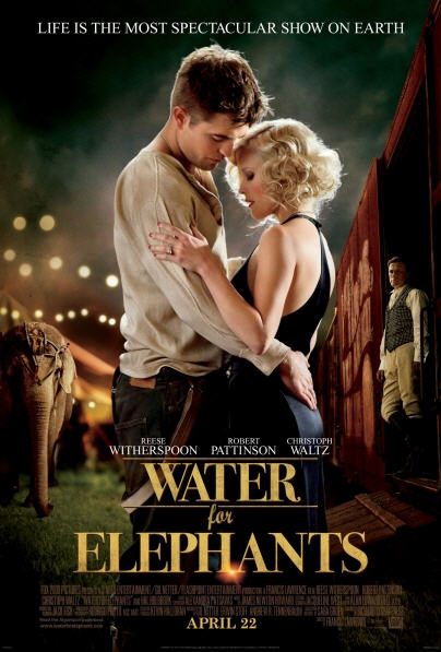 Water for Elephants Trailer and Photos