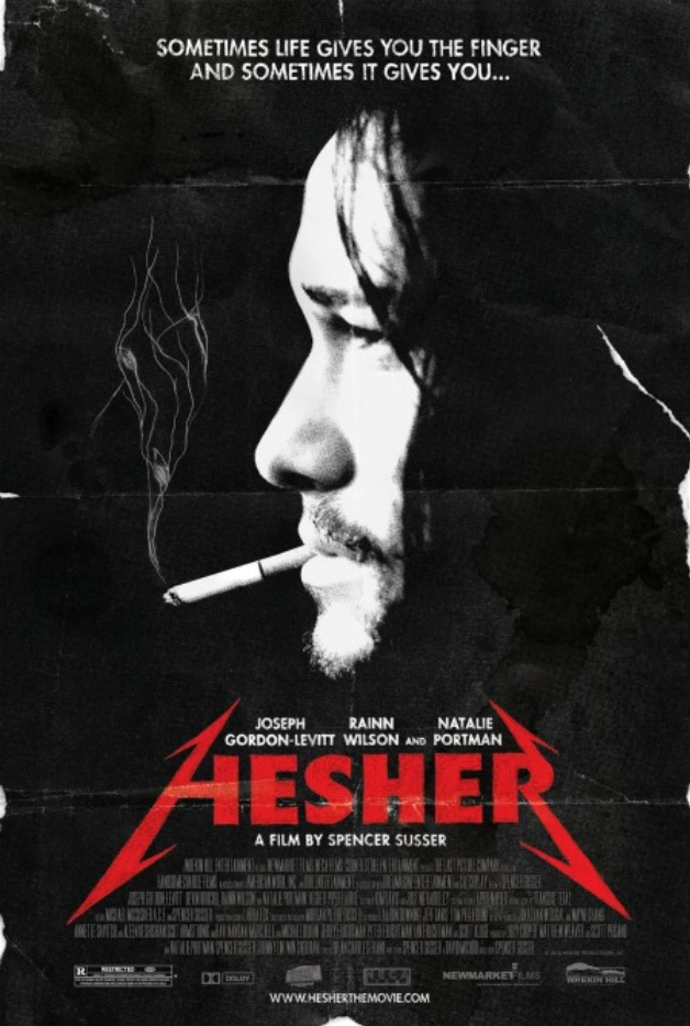 New Metal-Inspired Poster for 'Hesher'