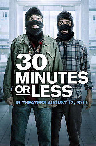 I Think This Red Band Trailer for '30 Minutes or Less' Is Supposed to Be Funny