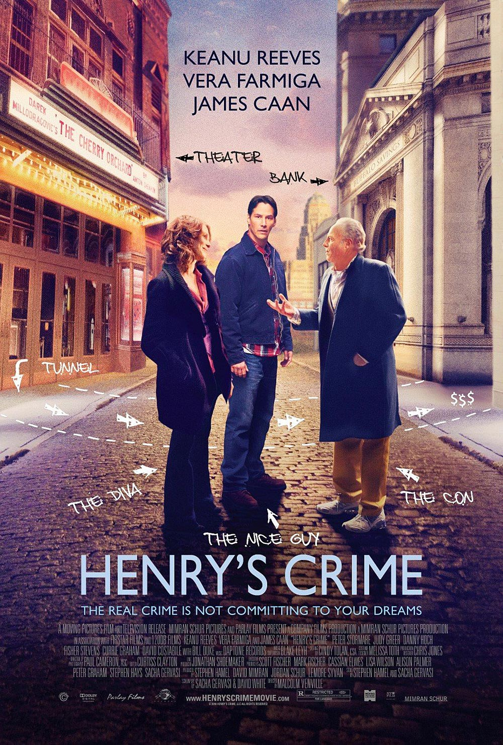 Movie Review: 'Henry's Crime' falls short