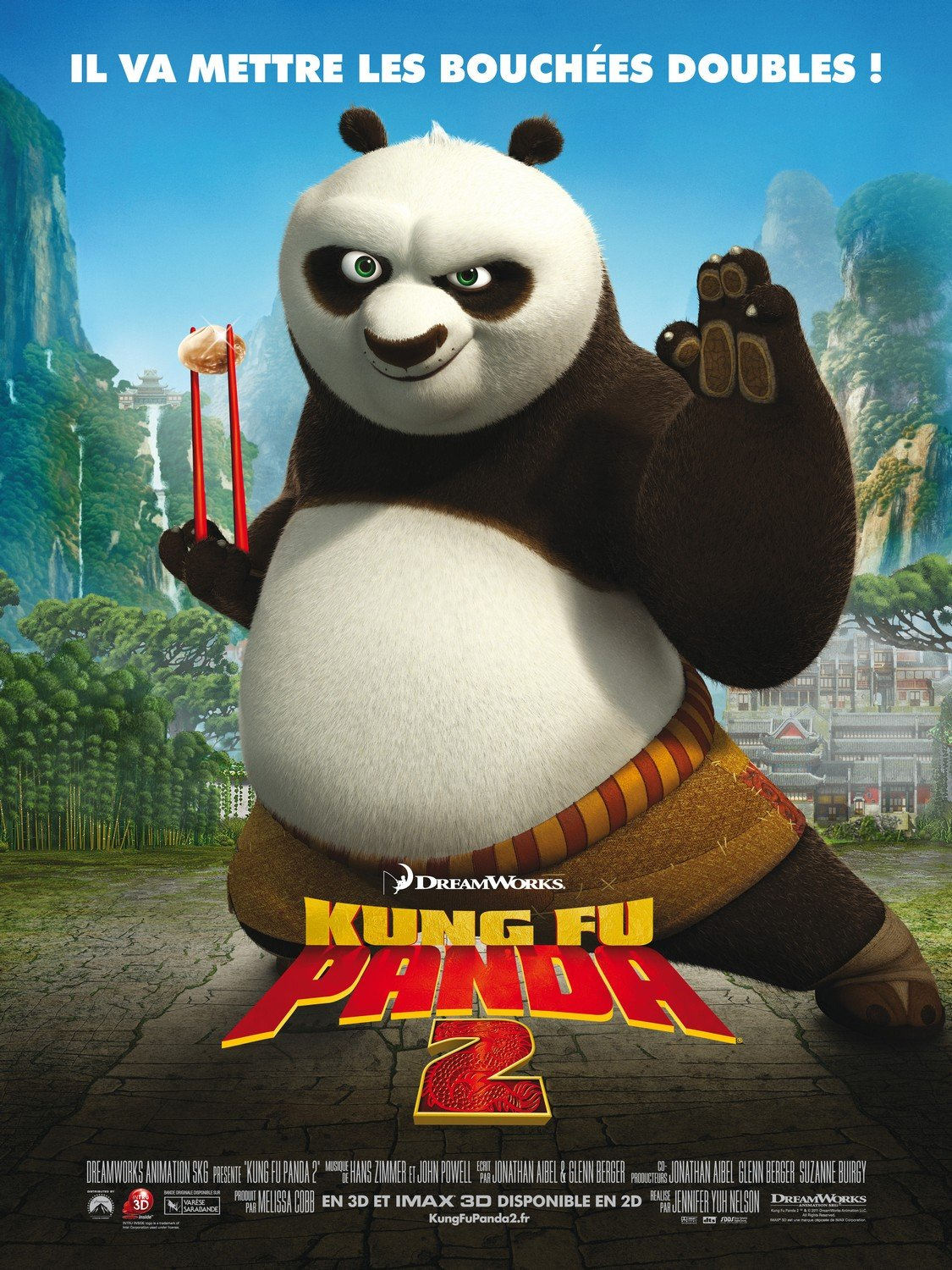 Kung Fu Panda 2 International Poster