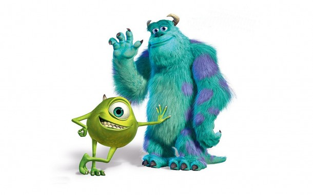 monsters inc sulley and mike wallpaper 1920 610x381 Pixars Monsters University Pushed Back to 2013