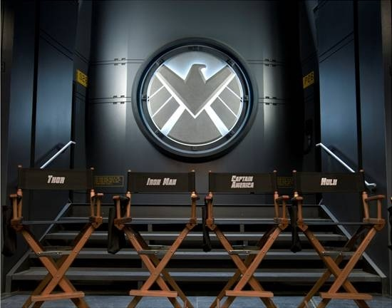 'The Avengers' Have Assembled for the First Day of Shooting-or at least the first image of their Chairs Have