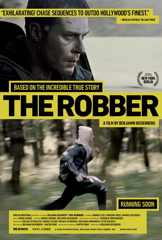 New Trailer for THE ROBBER features a Marathon Runner who Robs Banks