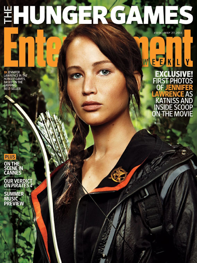 Katniss Unveiled – First look at Jennifer Lawrence in The Hunger Games