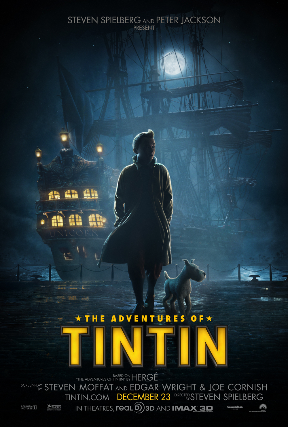 First Look: 'The Adventures of Tintin' Domestic and International Posters