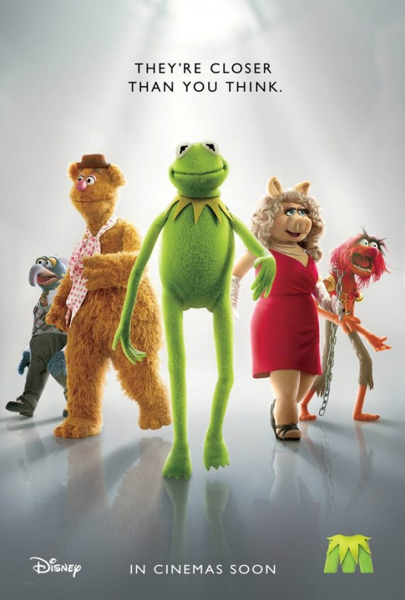 'The Muppets' Poster Shows A Lot of Leg