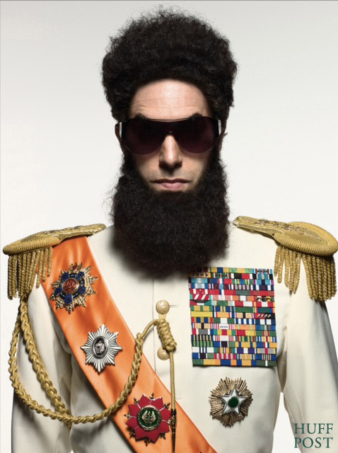 First look at Sacha Baron Cohen as 'THE DICTATOR'
