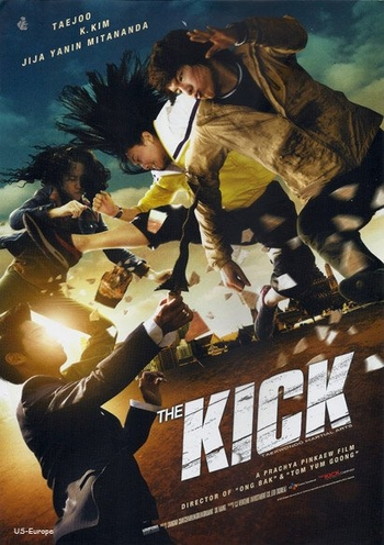 The New Poster for THE KICK is one that we can Read in English!