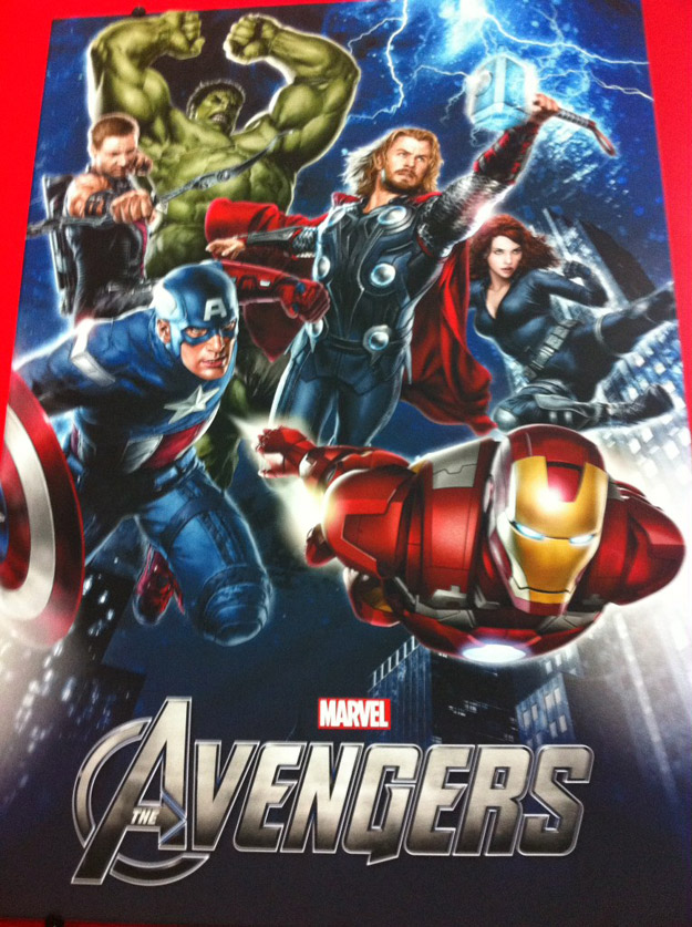 'The Avengers' Promo Poster plus First Look at New Captain Outfit