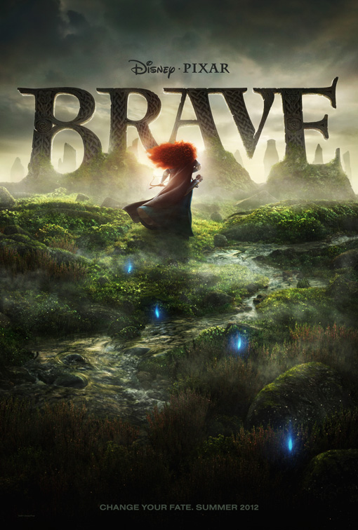 Teaser Poster for Pixar's First Fairy Tale, 'Brave'