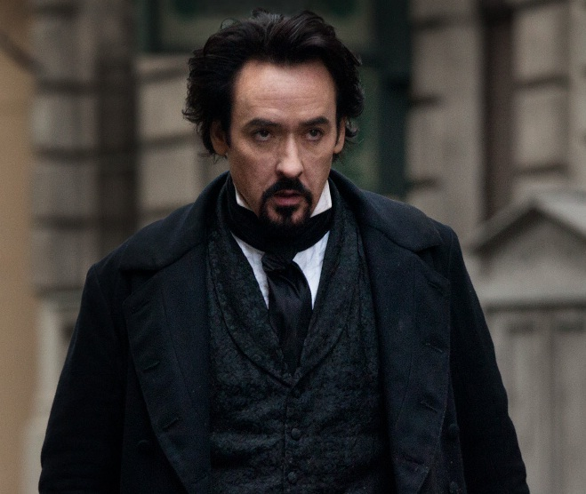 It's the OFFICIAL First Look of Cusack as Edgar Allen Poe in 'The Raven'