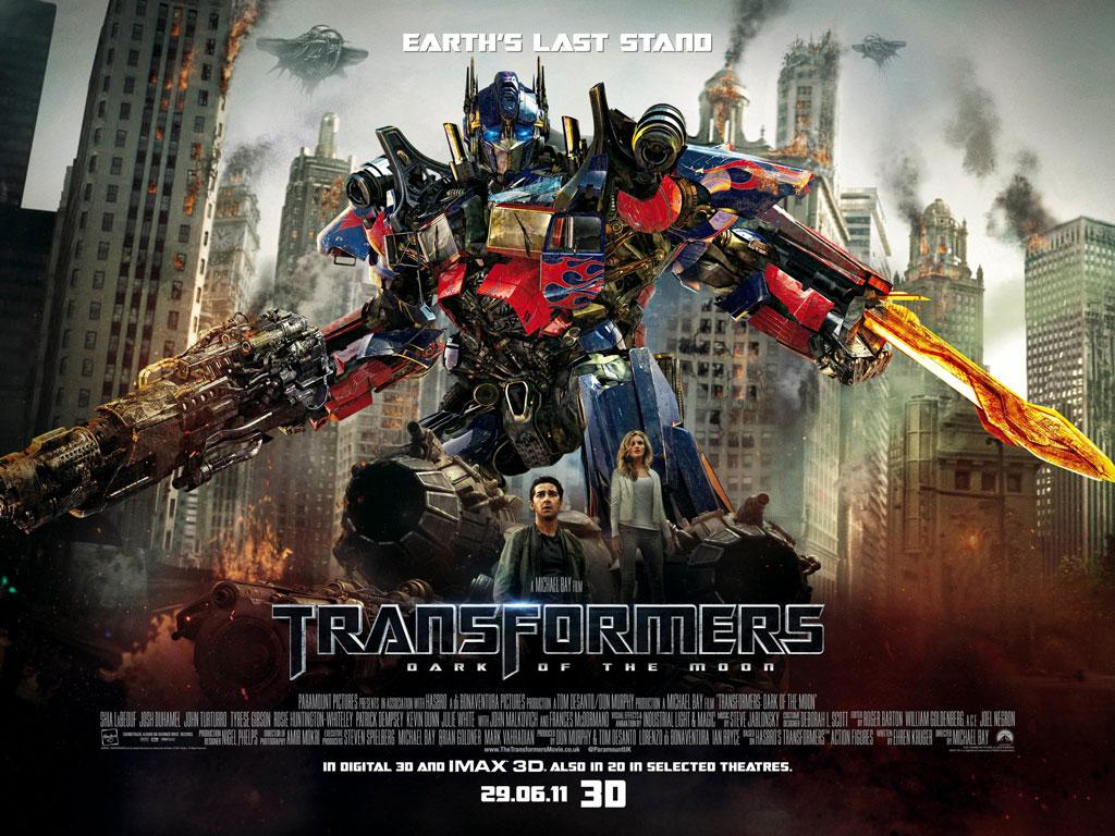 TRANSFORMERS: DARK OF THE MOON TO OPEN EARLY IN 3D AND IMAX THEATERS AT 9PM ON JUNE 28TH