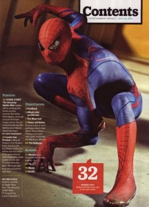 Amazing4 216x300 The Amazing Spider Man images from EW plus Trailer news