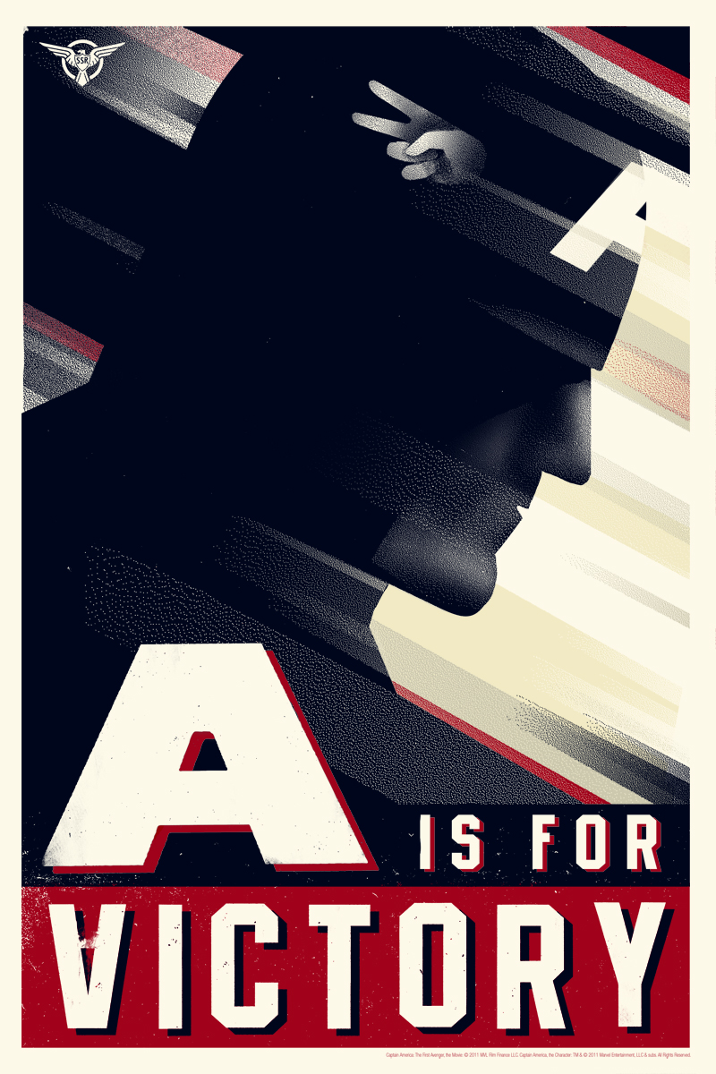 SDCC '11: 6 New Captain America Posters, 3 Different Artists, all from Mondo