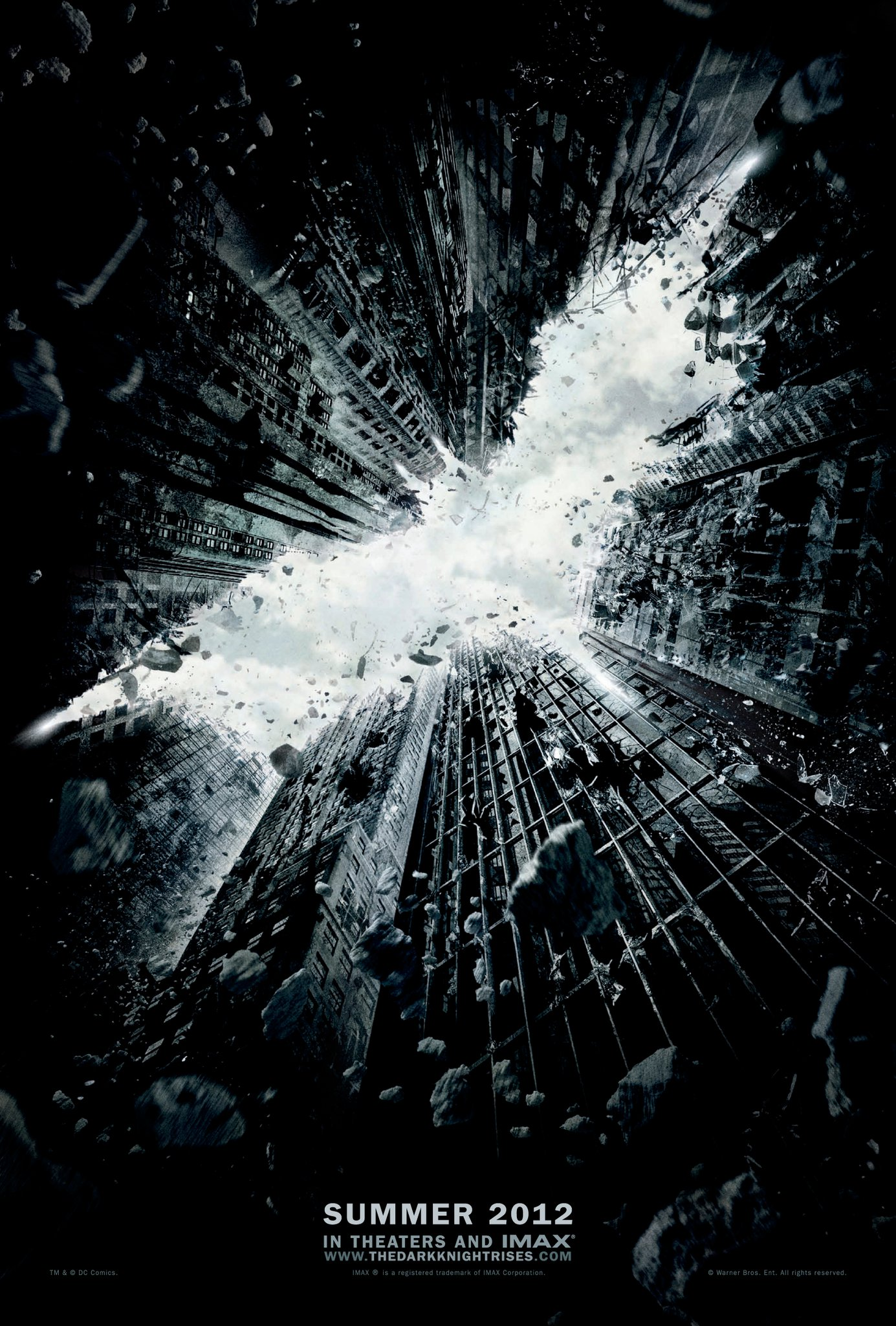 Finally, the OFFICIAL 'The Dark Knight Rises' Teaser Poster has been Released