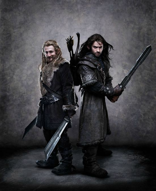 It's time for Fili and Kili's Close-up in the Latest Portrait from 'The Hobbit'