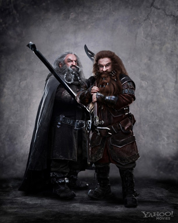 GloinOin 610x761 Gimlis Father and Uncle Revealed in Latest Hobbit Dwarf Photo!