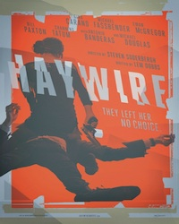 SDCC '11: First Trailer, Poster, Synopsis, and New Stills From Soderbergh's 'Haywire'