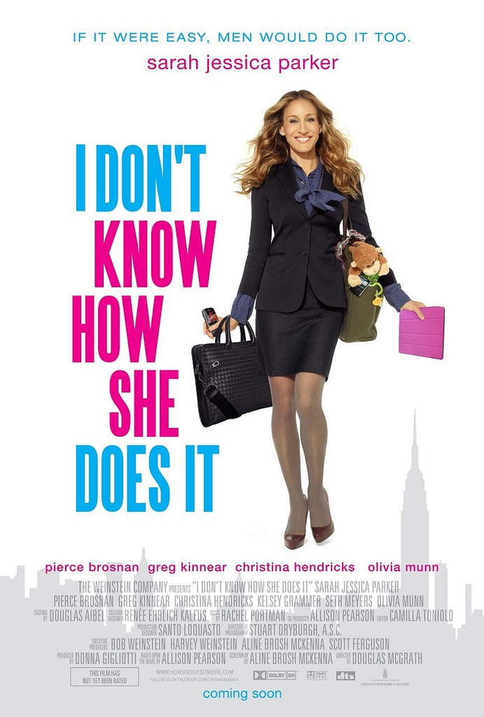 Trailer: 'I Don't Know How She Does It,' Sarah Jessica Parker That Is