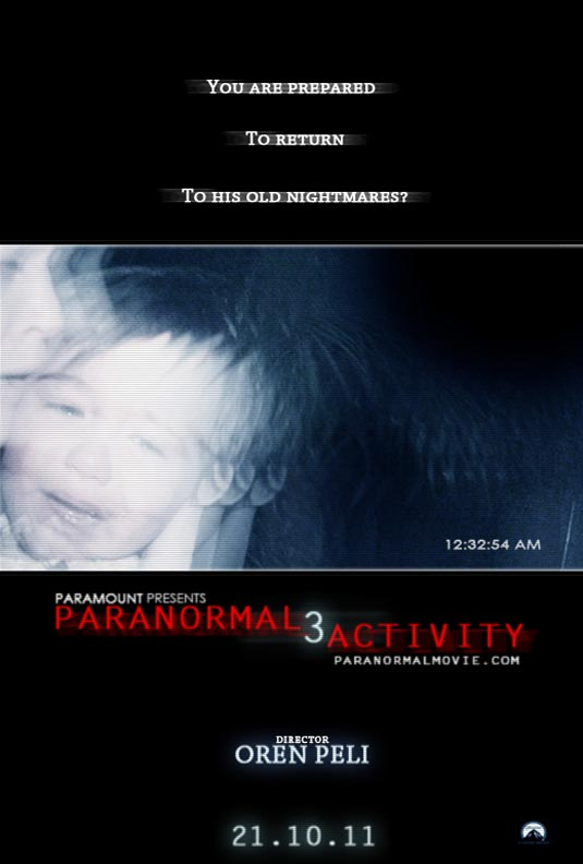 Full Length Trailer for 'Paranormal Activity 3′ Gives Away All the Good Stuff