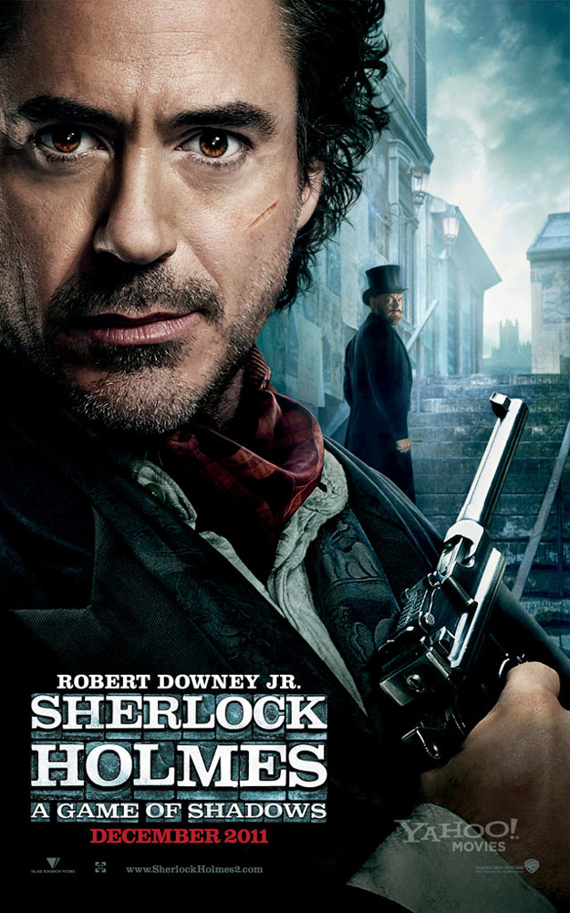 'Sherlock Holmes: A Game of Shadows' Trailer Promises Plenty of Action