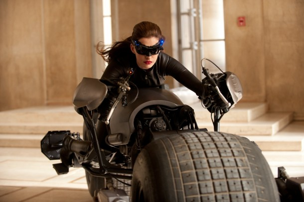 Anne Hathaway as Catwoman dark knight rises 610x406 The Event Trailer and the New Era of Movie Previews