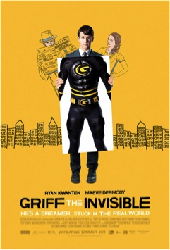 GrifftheInvisibleposter Movie Review: Make Sure You See 'Griff the Invisible'