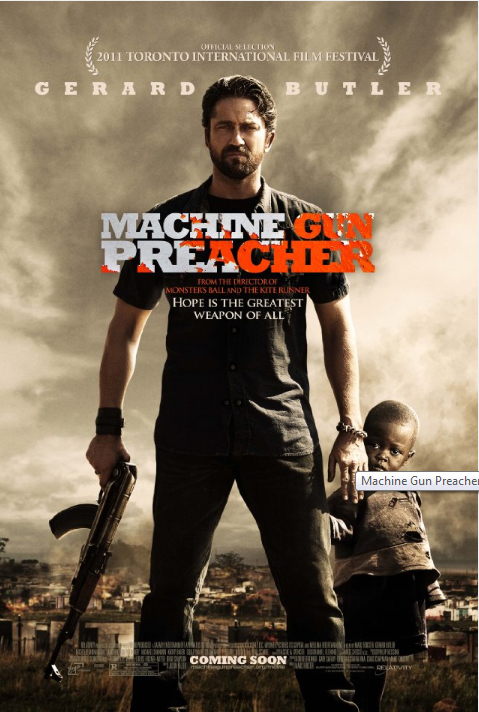 New Posters for Gerard Butler's 'Machine Gun Preacher' and Jason Statham's 'Safe'