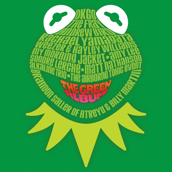 Listen to Contemporary Musicians like OK Go, Weezer and Alkaline Trio take on The Muppets in 'The Green Album'