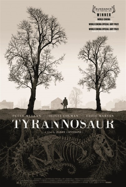 Aggressive Trailer for Paddy Considine's Debut Feature, Tyrannosaur