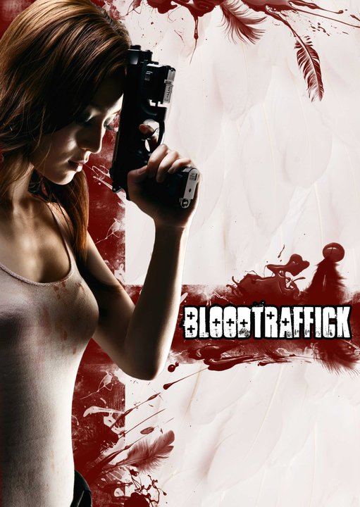 Teaser for Vigilante vs Vampire vs. Angel Action film, 'Bloodtraffick'