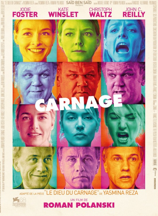 NYFF '11: 'Carnage' Movie Review