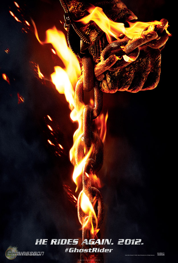 He Rides again! 'Ghost Rider: Spirit of Vengeance' Trailer and Poster
